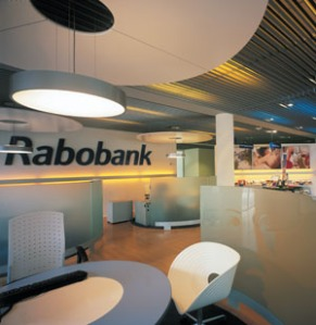 Rabobank interior in Amsterdam