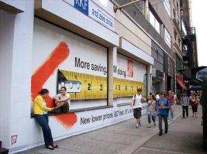 Retail billboards