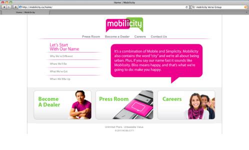 Mobilicity.ca