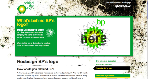 Greenpeace's BP Logo Contest