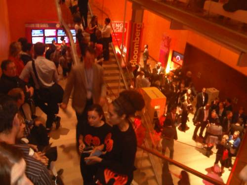 The line at Advertising Week, part 1