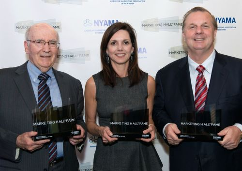 Philip Kotler, Beth Comstock and Joe Tripodi being honored at Marketing Hall of Fame